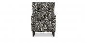 ALF - Sessel mit hoher Lehne im Stoff S & V Elegant Gloria