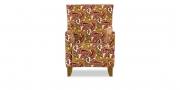 ALF - Sessel mit hoher Lehne im gemusterten Stoff von S & V Elegant Gloria