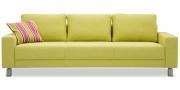 AMICA - 3 Platz Sofa in Sonderbreite im Stoff HF Como limone