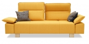 BELUGA - 2,5 Platz Sofa in Stoff S & V Provence gelb