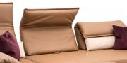 BONO - Detailbild Rücken in Leder Jumbo cashew