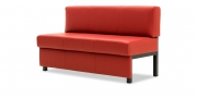 CF400 - Sitzbank in rotem Leder