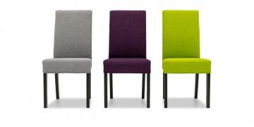 CF950 - Stühle im Webstoff grau lila grün
