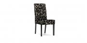 CF950 - Stühle im Stoff Clarke & Clarke Academy Velvets Florentine Ebony