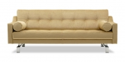 CHESTERFIELD - 2,5 Platz Sofa in Mohair Brasilia beige