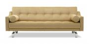 CHESTERFIELD - 2,5 Platz Sofa in Mohair Brasilia beige