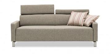 FINESSE - 2,5 Platz Sofa im Stoff Höpke Active Line Verano