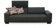 FUTURA - 2,5 Platz Sofa im Stoff Martinez anthrazit