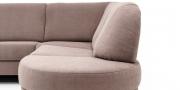 LIBERTY-COMO - Detailbild von Sptzecke mit 1 Platz Sofa und Rondo mit Aufsatz