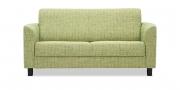 LIBERTY-COMO - 2 Platz Sofa in Sonderbreite im Stoff Cover hellgrün meliert