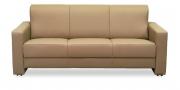 LIBERTY-Jamaika - 3 Platz Sofa in beigem Leder