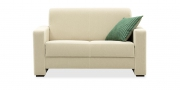 LIBERTY-Jamaika - 2 Platz Sofa im Stoff Elegant Elements creme-weiß