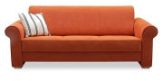 LIBERTY-Lola - 3 Platz Sofa in Alcantara orange