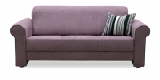 LIBERTY-Lola - 3 Platz Sofa in Mikrofaser Like Suede grau