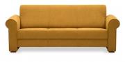 LIBERTY-Lola - 3 Platz Sofa in Mikrofaser senfgelb