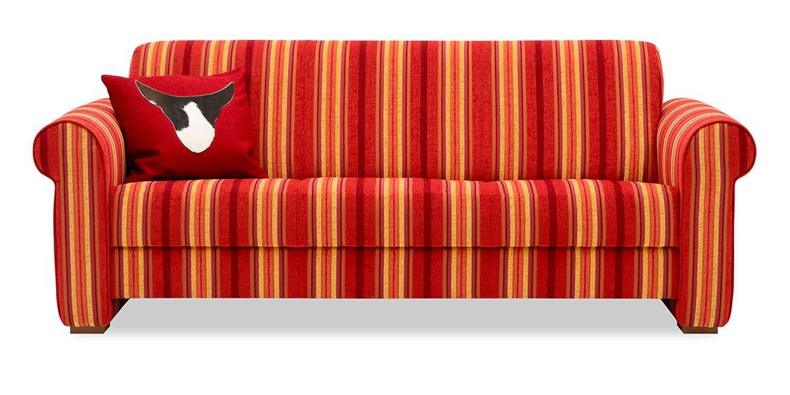 sofa gestreift stunning sofa landhaus gestreift mabel. Black Bedroom Furniture Sets. Home Design Ideas