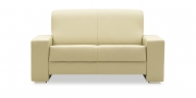 LIBERTY-Ohio - 2 Platz Sofa in Leder Prescott beige