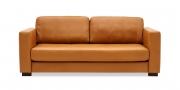 LIVING - 2,5 Platz Sofa in Leder Sierra Antique cognac