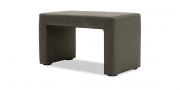 Hocker Modul One im Stoff Lounge Winner anthrazit