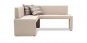 MODUS Sitzsystem - Sitzbank 60 mit Rücken in Kunstleder Sotega Perle
