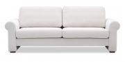 ORA - 2,5 Platz Sofa in hellen Stoff Sonnhaus Villena vanille
