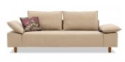 PABLO - 2,5 Platz Sofa im Stoff Sonnhaus Adelaide natur