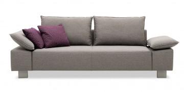 PABLO - 2,5 Platz Sofa im Stoff Mercis Boom hellgrau