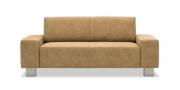 VENTO - 2 Platz Sofa im Stoff Sonnhaus Vintage Style Dallas beige