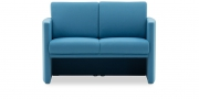 VISTA - 2 Platz Sofa in hellblauem Stoff