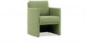 VISTA - Sessel in hellgrünem Kunstleder