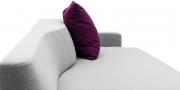 Wave Sofa organische Rücken