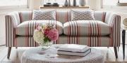Stoffblog Sofa im Stoff von Clarke & Clarke Paradiso
