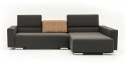 Neues Modell Sofa Sirius mit einzeln versetzbaren Rückenkissen