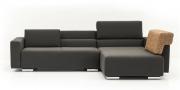 Neues Modell Sofa Sirius mit losen Rückenkissen auf Armlehne