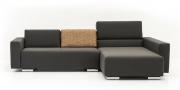 Neues Modell Sofa Sirius mit modularen Rückenkissen