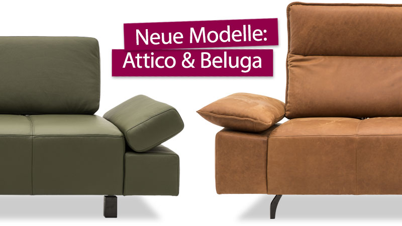 neue Modelle Attico & Beluga