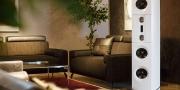 Aktivlautsprecher Backes und Müller mit Couch Signum