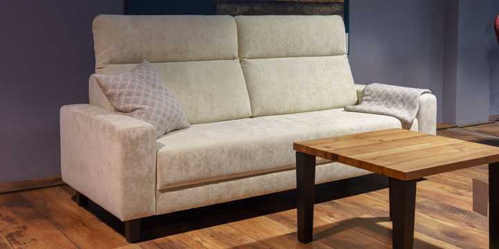 reduziertes Sofa Batida in Teddy-SToff S&V Magic beige