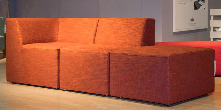 CF 300 - Modul Sofa Stoff orange