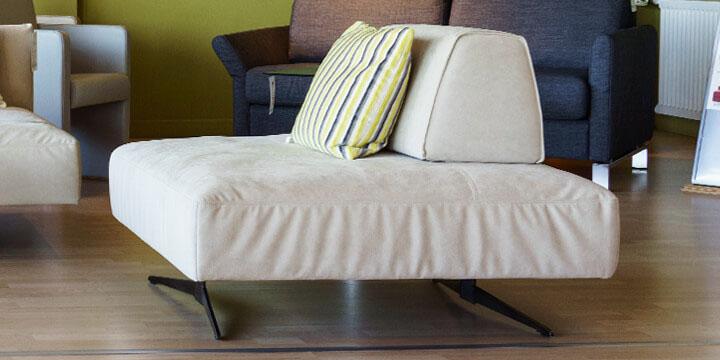 reduziertes Ausstellungsstück Sessel Easy in Mikrofaserstoff Alcanatar beige