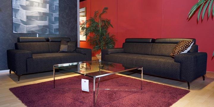 reduziertes Ausstellungsstück Sofagruppe Signum in Stoff Englisch Dekor