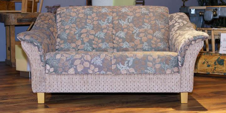 Turin - 2 Platz Sofa in Stoff floral