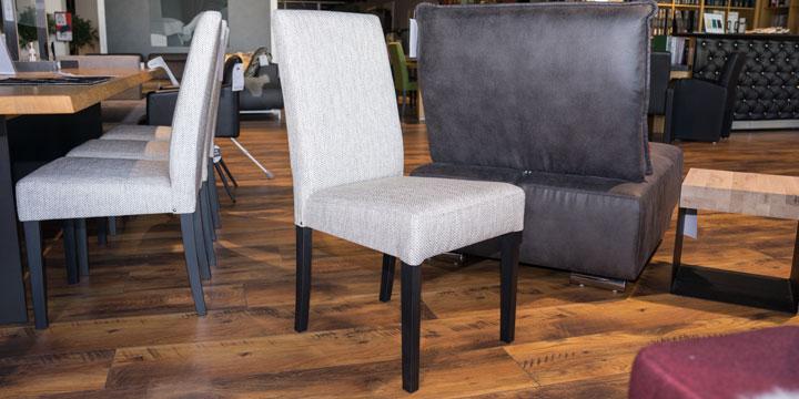 CF 950 - Stuhl Stoff S&V Magic Style beige Fischgätenmuster